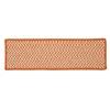 Outdoor Houndstooth Tweed - Orange Stair Tread (set 13)