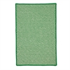 Outdoor Houndstooth Tweed - Grass 12' square