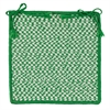 Colonial Mills Outdoor Houndstooth Tweed - Grass Chair Pad (set 4)