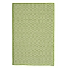 Outdoor Houndstooth Tweed - Lime 7'x9'