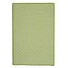 Outdoor Houndstooth Tweed - Lime 8'x11'