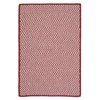 Colonial Mills Outdoor Houndstooth Tweed - Sangria 2'x3'