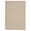 Outdoor Houndstooth Tweed - Cuban Sand 4'x6'