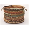 "Colonial Mills Olivera- Warm Chestnut 14""x10"" Utility Basket"