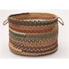 "Colonial Mills Olivera - Warm Chestnut 18""x12"" Utility Basket"