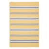 Colonial Mills Painter Stripe Rug - Summer Sun 4'x6'