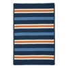Colonial Mills Painter Stripe Rug - Set Sail Blue 8'x10'