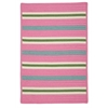 Colonial Mills Painter Stripe Rug - Spring Pink 2'x3'