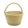 Colonial Mills Easter Pastel Wool Basket Yellow 8x12x7
