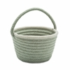 Colonial Mills Easter Pastel Wool  Basket Mint 8x12x7