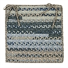 Colonial Mills Print Party - Denim Wash Chair Pad (single)
