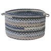 "Print Party - Denim Wash 18""x12"" Utility Basket"
