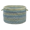 "Rustica- Whipple Blue 14""x10"" Utility Basket"
