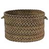 "Colonial Mills Rustica- Grecian Green 14""x10"" Utility Basket"