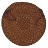 Colonial Mills Rustica - Audubon Russet Chair Pad (set 4)