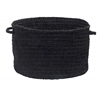"Colonial Mills Spring Meadow - Black 18""x12"" Utility Basket"