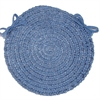 Spring Meadow - Petal Blue Chair Pad (single)
