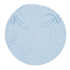 Spring Meadow - Sky Blue Chair Pad (single)
