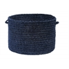 "Spring Meadow- Navy 14""x10"" Utility Basket"