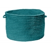"Spring Meadow- Teal 14""x10"" Utility Basket"