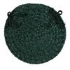 Colonial Mills Spring Meadow - Dark Green Chair Pad (set 4)