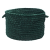 "Colonial Mills Spring Meadow - Dark Green 18""x12"" Utility Basket"