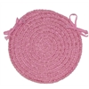Spring Meadow - Silken Rose Chair Pad (single)