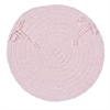 Spring Meadow - Blush Pink Chair Pad (set 4)