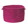 "Colonial Mills Spring Meadow- Magenta 14""x10"" Utility Basket"