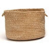 "Colonial Mills Spring Meadow- Sand Bar 14""x10"" Utility Basket"