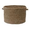 "Colonial Mills Spring Meadow- Café Tostado 14""x10"" Utility Basket"