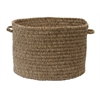 """Spring Meadow - Café Tostado 18""""x12"""" Utility Basket"""