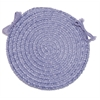 Colonial Mills Spring Meadow - Amethyst Chair Pad (single)