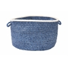 "Colonial Mills Silhouette - Blue Ice 18""x12"" Utility Basket"
