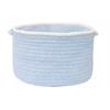 "Colonial Mills Silhouette- Sky Blue 14""x10"" Utility Basket"