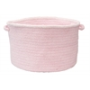 "Colonial Mills Silhouette - Blush Pink 18""x12"" Utility Basket"