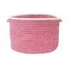 "Silhouette - Pink 18""x12"" Utility Basket"