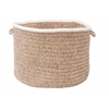 "Colonial Mills Silhouette - Sand 18""x12"" Utility Basket"
