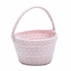 Easter Soft Blend Basket Blush Pink 8x12x7
