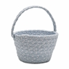 Easter Soft Blend Basket Sky Blue 8x12x7