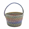 Easter Spring Mix Basket Multi 8x12x7