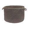 "Colonial Mills Tiburon- Misted Gray 14""x10"" Utility Basket"