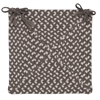 Colonial Mills Tiburon- Misted Gray Chair Pad (set 4)