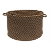 "Colonial Mills Tiburon- Spruce Green 14""x10"" Utility Basket"