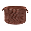 "Tiburon- Rusted Rose 18""x12"" Utility Basket"