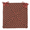 Colonial Mills Tiburon- Rusted Rose Chair Pad (single)
