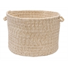 "Colonial Mills Tremont- Natural 18""x12"" Utility Basket"