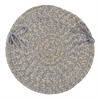 Colonial Mills Tremont- Gray Chair Pad (single)