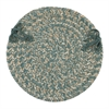 Colonial Mills Tremont- Teal Chair Pad (single)