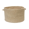 "Tremont- Oatmeal 18""x12"" Utility Basket"
